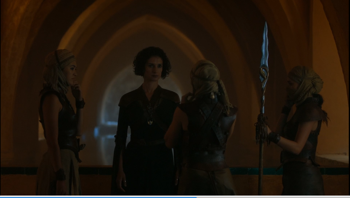 Ellaria y las serpientes de arena conspiran contra Doran Martell, juego de tronos - Los viajes de Margalliver